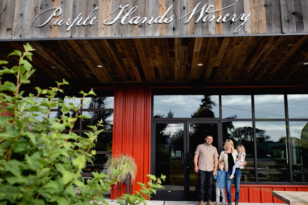 Purple Hands Winery and Urban Tasting Room